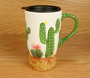Pittsford Cactus Travel Mug