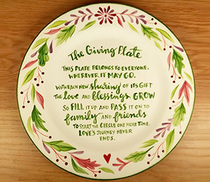 Pittsford The Giving Plate