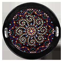 Pittsford Mosaic Mandala Tray