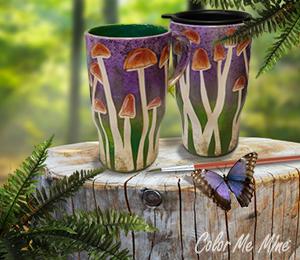 Pittsford Mushroom Mugs