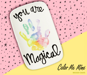 Pittsford Rainbow Hand-print