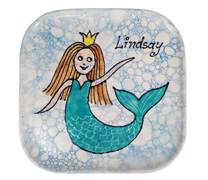 Pittsford Mermaid Plate