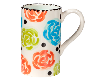 Pittsford Simple Floral Mug