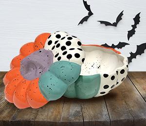 Pittsford Color Block Pumpkin