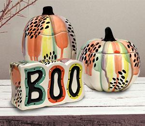 Pittsford Drippy Pumpkin Box