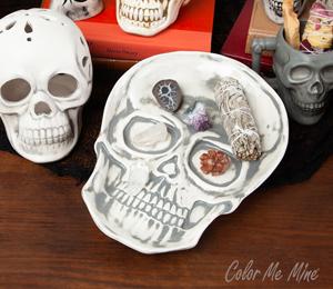 Pittsford Vintage Skull Plate
